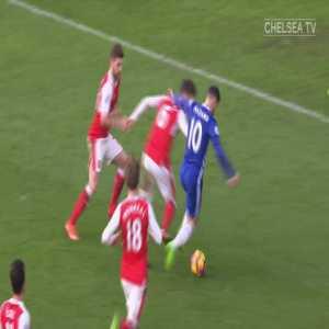 Eden Hazard solo goal Chelsea vs Arsenal 16/17
