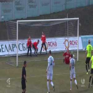 Gorodeya 0 - 1 Shakhtyor Soligorsk - failed panenka by Kendysh (Soligorsk) | 2020 Belarusian Top League