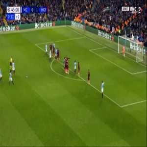 Leroy Sané awesome free-kick goal - Manchester City [1]-1 Hoffenheim
