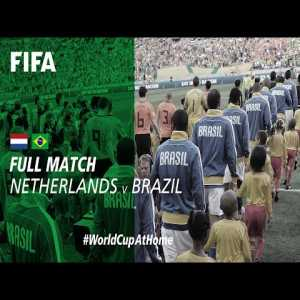 Netherlands 2-1 Brazil (South Africa 2010) Full Match ; now available on FIFA's Youtube Channel.