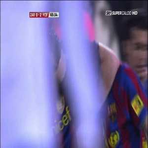 Real Zaragoza 0-[2] Barcelona - Messi 66' - 2009/2010