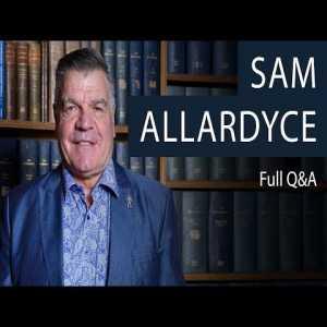 Sam Allardyce | Full Q&A at The Oxford Union