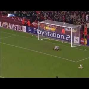 Steven Gerrard goal vs Olympiacos
