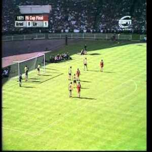 18/05/1971 Arsenal v Liverpool