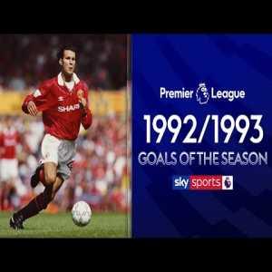 Top 10 Premier League Goals Of The Season 1992/1993