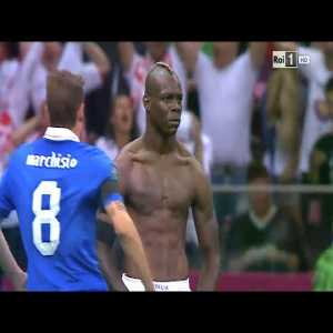 Euro 2012: Balotelli's brace against Germany takes Italy to final