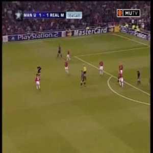 Great team goal (United v Madrid 2002)