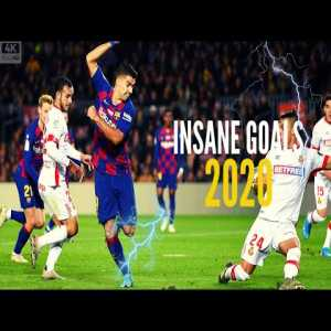 Most Insane Goals 2020 |HD