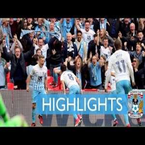 On this day in 2017, Coventry City lifted the Checkatrade Trophy at Wembley after beating Oxford United 2-1