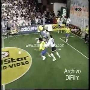 Bebeto destroying Maradona's team in a 4-a-side, TV show (1994)