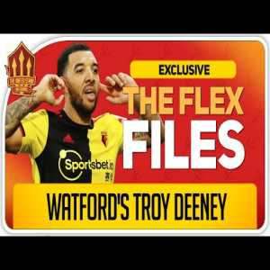Brilliant 1-hour long candid interview with Troy Deeney.