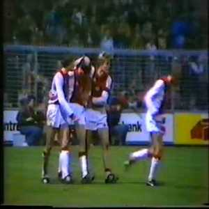 On this day in 1982, 17-year-old Marco van Basten gets substituted on for Johan Cruyff for his professional debut, and scores his 1st of what would become 301 career goals to make the score 3-0 against NEC