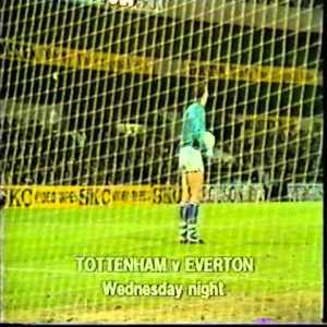 On this day in 1985 Neville Southall pulled off one of the saves of his career to secure Everton the win over their title rivals Spurs