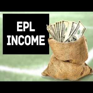 EPL Clubs income from 1993 - 2020