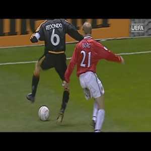 Fernando Redondo Nutmeg vs Manchester United 2000