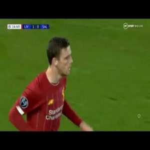 Liverpool Vs Salzburg (4 - 3) UCL Full Group Stage Match (2019 10 02)