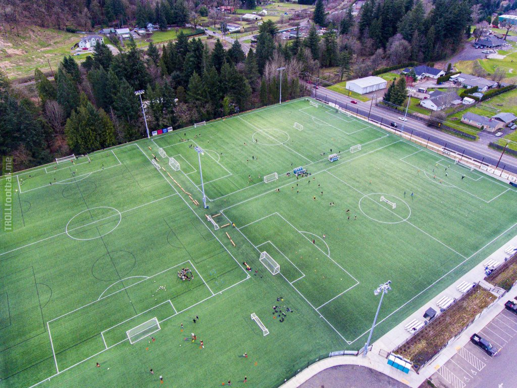 r/baseball is posting stadiums; well this is our own club funded soccer complex that's waiting for the kids to get back on the ball. It's our own field(s) is dreams