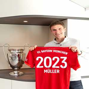 Thomas Müller signs a new contract with Bayern Munich until 2023