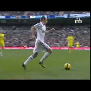 A different Robben goal (Real Madrid vs Villarreal)