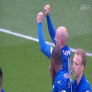 5 years ago, Cambiasso kick started Leicester's run to stay in the EPL (Leicester City 2-1 West Ham)