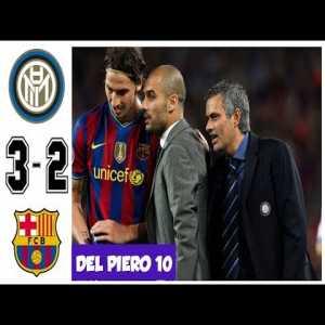 Inter Milan vs Barcelona 3-2 Dramatic UCL Semifinals 2010 highlights