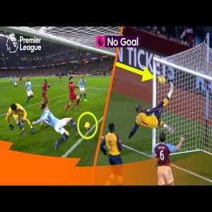 Legendary Premier League Goalline Clearances