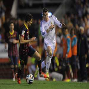 "Bartra: ""Bale is a freight train. One of the most rapid in the world."""