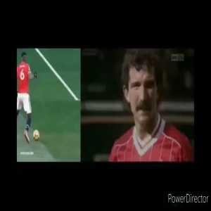 Paul Pogba vs Graeme Souness highlights comparison