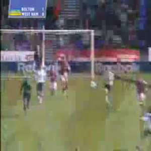 On this day in 2003, Jay Jay Okocha scored one of the most brilliant and important goals of the Big Sam era for Bolton vs West Ham