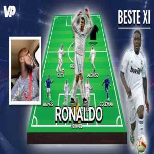 "Drenthe lists his best XI of players he played with: ""Howard, Baines, Ramos, Cannavaro, Coleman, Guti, Xabi Alonso, Robinho, Ronaldo, Nelson Valdez and Robben. Guti is the best player I've played with."""