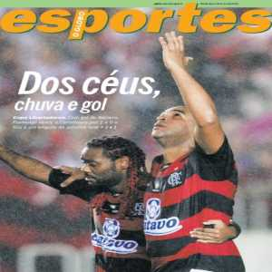 On this day in 2010: Flamengo won 1-0 against Corinthians for the round of sixteen of the Copa Libertadores. Adriano scored to beat Ronaldo and Roberto Carlos' team at Maracanã.