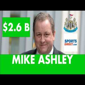 This video explains the story of Mike Ashley and how he got to own the club
