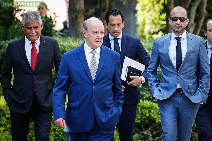 SL Benfica, FC Porto and Sporting CP presidents after the conversations to resume the Portuguese 1st League