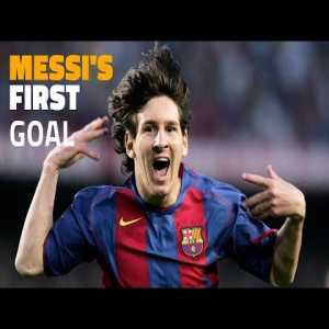 15 years ago today, Leo Messi scored his first official goal for Barcelona with this cheeky chip.