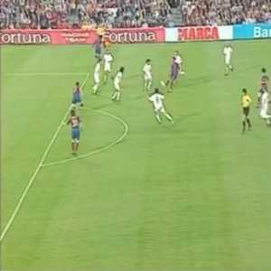 """Messi on Instagram: """"15 years ago today this happened. Time flies """" (First Barcelona goal)"""