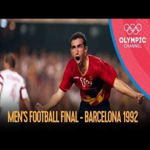 Poland vs Spain - Men's Football Final | Barcelona 1992 Olympics