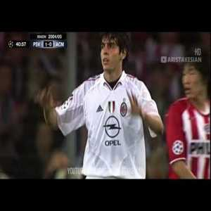 On this day in 2005, AC Milan reached the Champions League Final, despite losing 3-1 to PSV Eindhoven in the second leg of the Semi-Final.