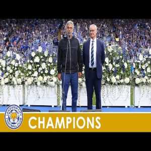 On this day in 2016: Opera singer Andrea Bocelli performs at the King Power Stadium before Leicester's first match after winning the title.