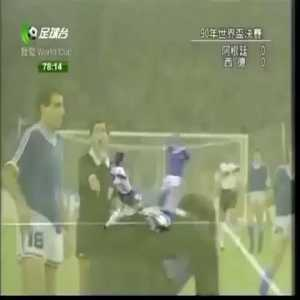 """Gabriel H. Calderón: """"Codesal, be honest please"""" Almost 30 years ago we played the WC final of Italia'90 against Germany. At 78', with a score of 0-0, Lothar Matthäus clearly fouled me on the penalty area. Dragged my foot and made me fall."""