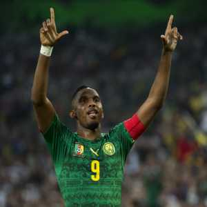 "Samuel Eto'o: ""None of them [Drogba or Diouf] can come and say that they were at my level or better. ""I wanted to be number one and I have been throughout my career."""