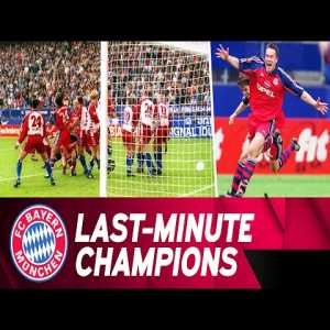 On this day in 2001, Bayern Munich's Patrik Andersson scored his only goal for the club on an indirect free kick in the 94th minute to equalize against Hamburg and edge out Schalke 04 for the Bundesliga title on the final day of the season.