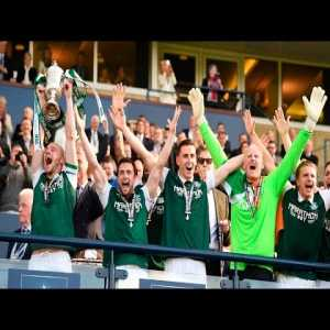 4 years ago today, Hibernian won the Scottish cup, defeating Rangers in dramatic fashion. One of the best Scottish cup finals of all time.
