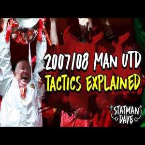 Man Utd's Greatest Ever Team? | Sir Alex Ferguson's 2007/08 Tactics Expl...