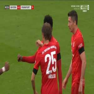 Bayern München [4]-2 Eintracht Frankfurt - Alphonso Davies 61'