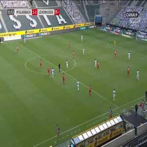 Borussia Mönchengladbach [1]-1 Bayer Leverkusen - Marcus Thuram 52'