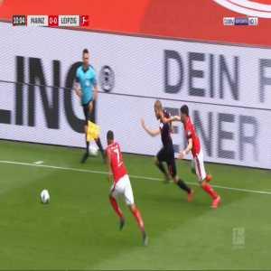 Mainz 0-1 RB Leipzig - Timo Werner 11'