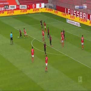 Mainz 0-4 RB Leipzig - Timo Werner 48'