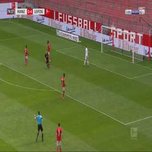 Mainz 0-5 RB Leipzig - Timo Werner 75'