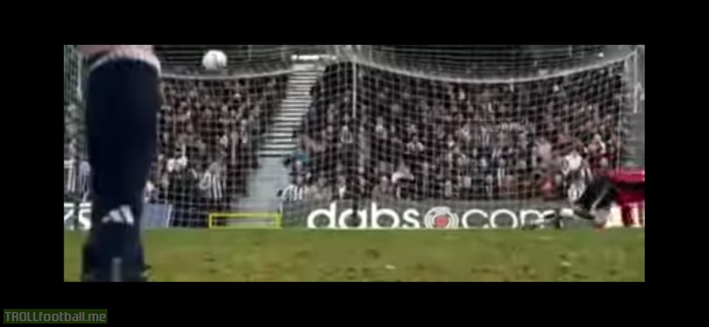 Anyone ever notice how bad the goalkeeper acting was on the goal movie ? Lol