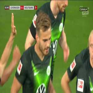 Bayer Leverkusen 0-1 Wolfsburg - Marin Pongračić 43'
